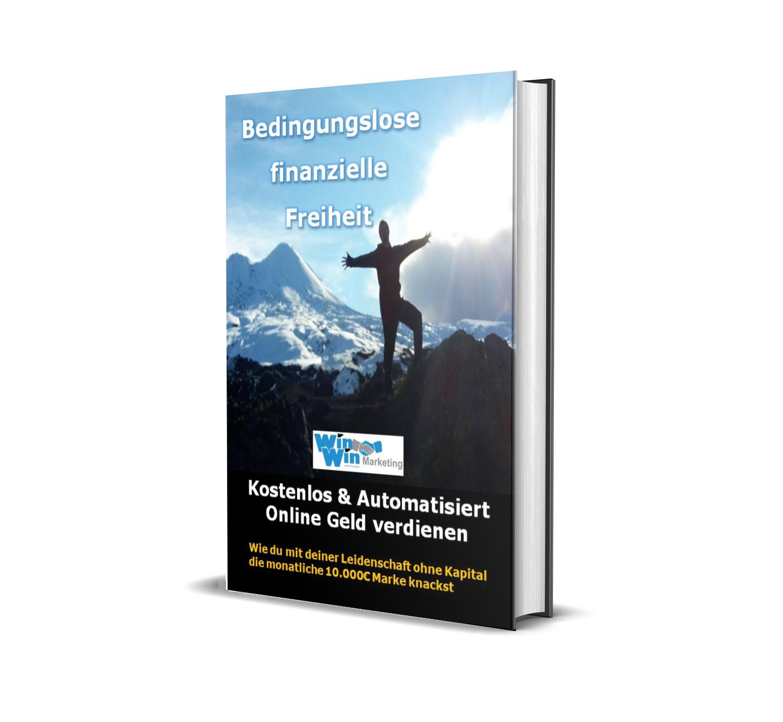 Buchcover Bedingungslose finanzielle Freiheit